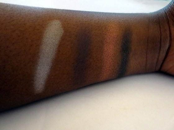 sephora pantone universe color of the year eyeshadow quad swathces