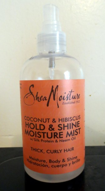 Shea Moisture Coconut & Hibiscuz Hold Shine Moisture Mist