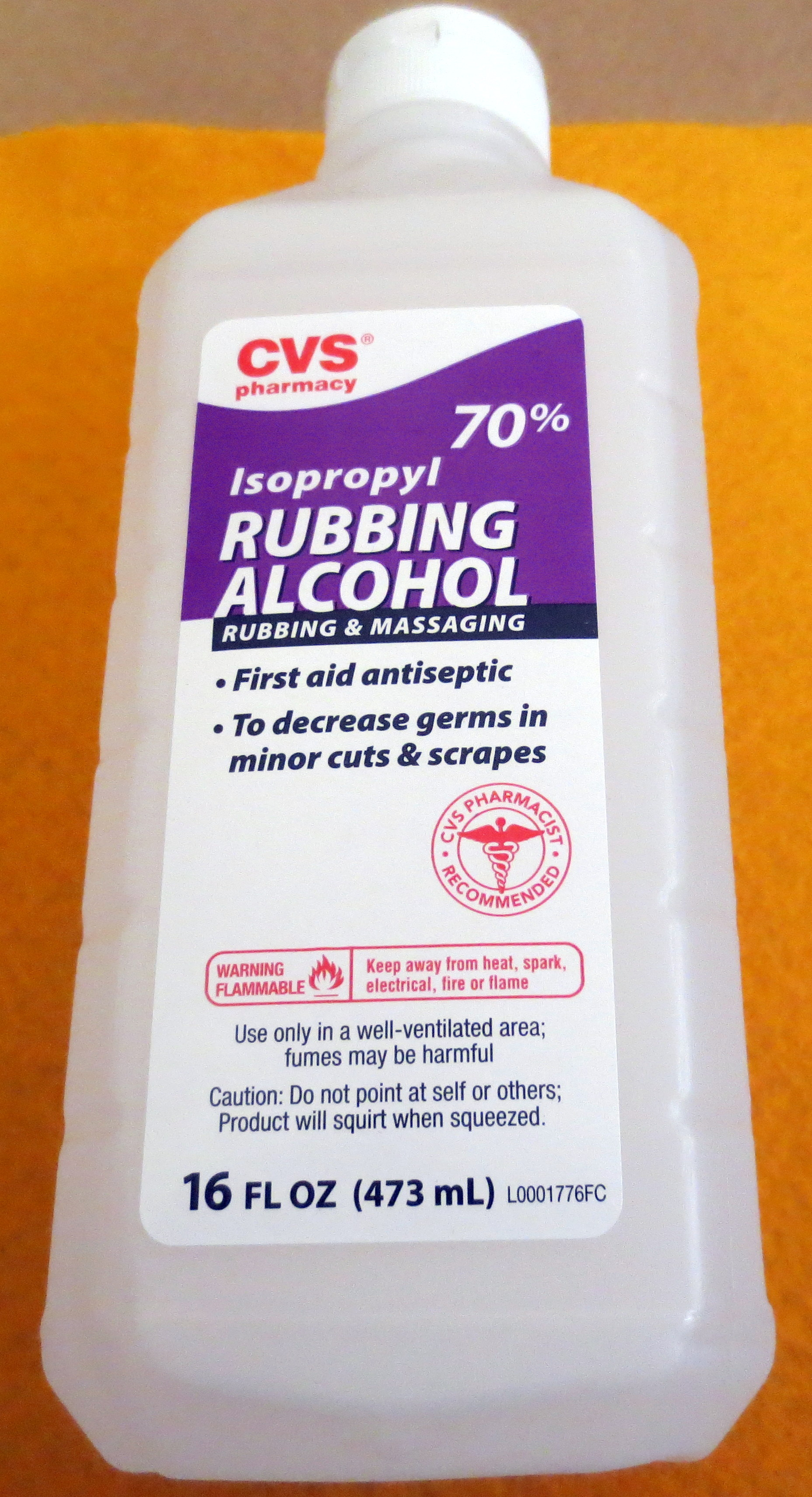 cvs isopropyl rubbing alcohol