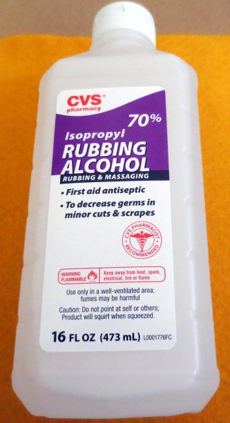 CVS Isopropyl Rubbing Alcohol
