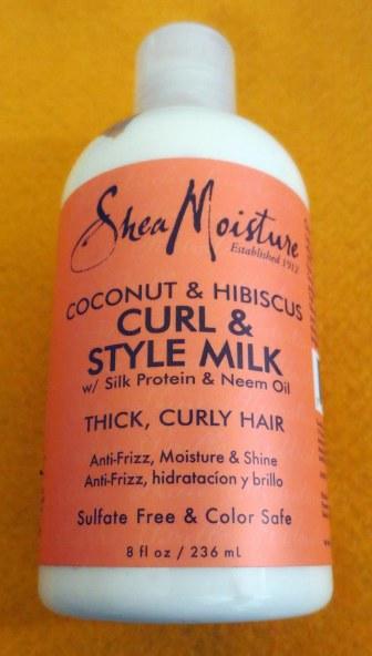Shea Moisture Coconut Hibiscus Curl Style Milk