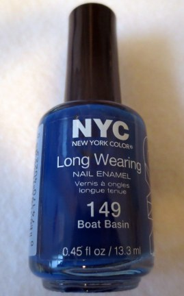 NYC Long Wearing Boat Basin Nail Polish