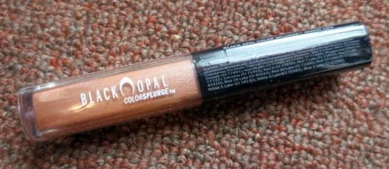 black opal color splurge patent lips nude scene