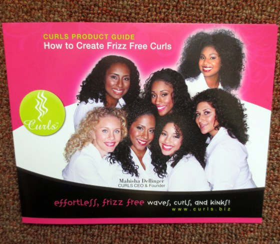 curls product guide