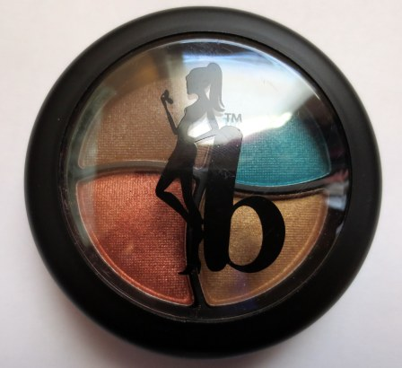 Be a bombshell cosmetics eyeshadow in bora bora