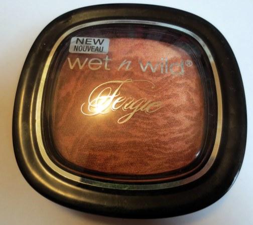 Wet n Wild Fergie Shimmer Palette Rose Golden Goddess