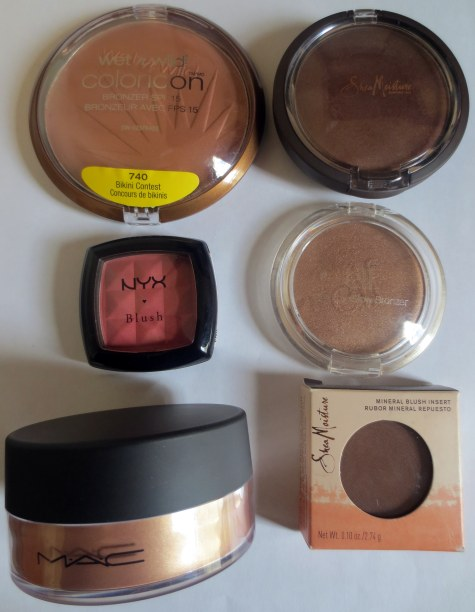 collective haul cheek products