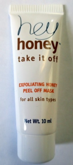 hey honey take it off exfoliating honey peel off mask