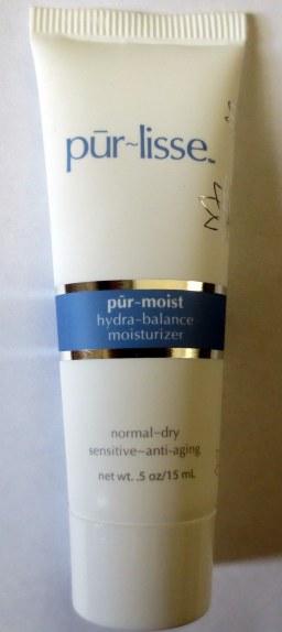 Purlisse hydra-balance moisturizer
