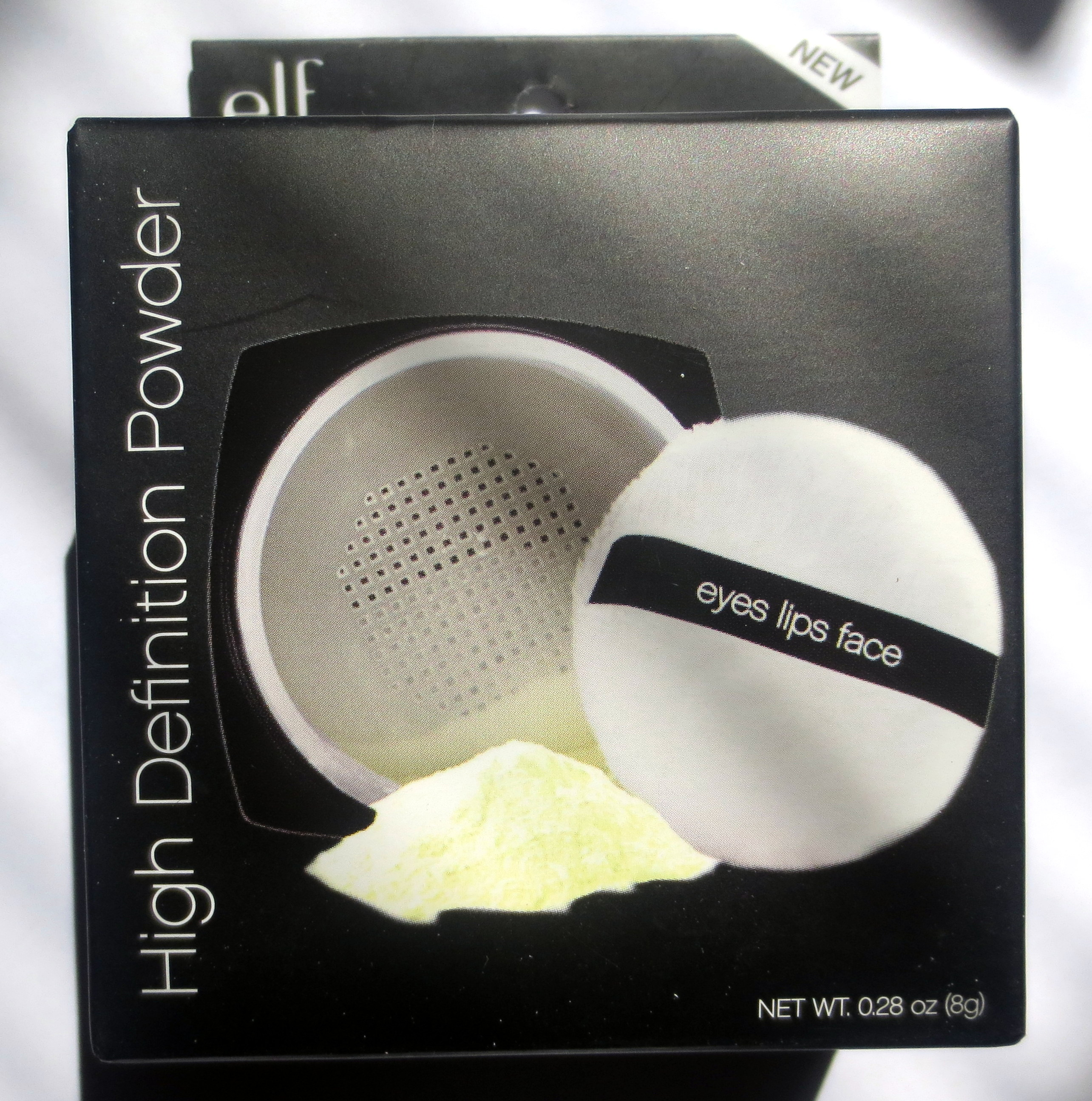 Elf studio high definition powder corrective yellow review