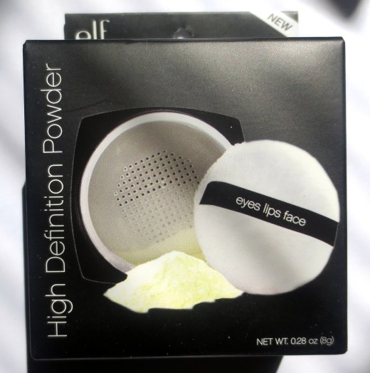 elf high definition powder corrective yellow
