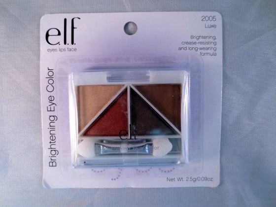 elf eyeshadow luxe