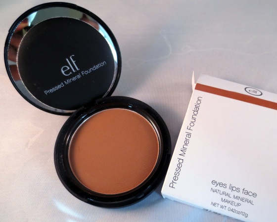 elf pressed mineral foundation deep