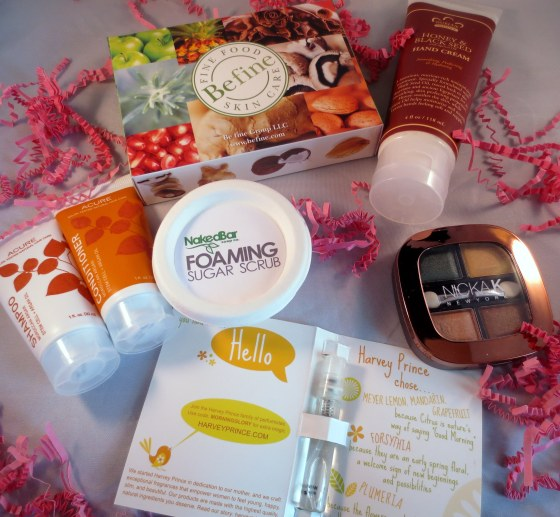 products in Cocotique box 1