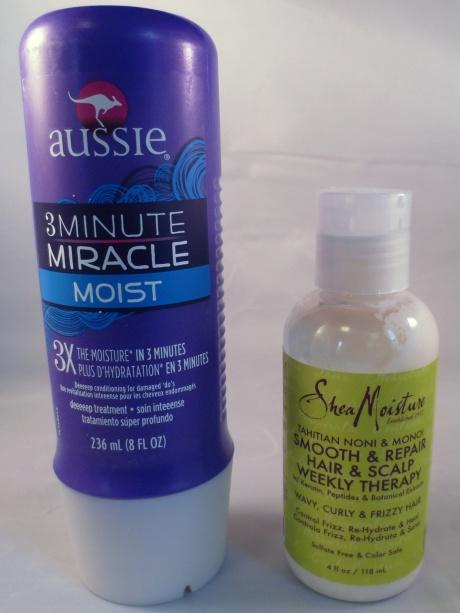 shea moisture and aussie