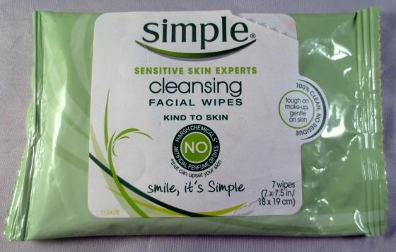 simple facia wipes