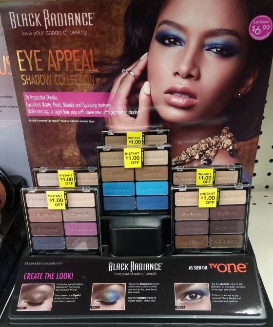 Black Radiance Eyeshadow Palettes