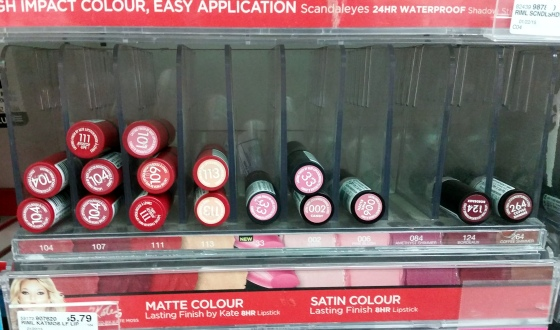 rimmel london matte colour