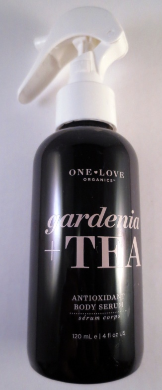 one love organics gardenia tea antioxidant body serum