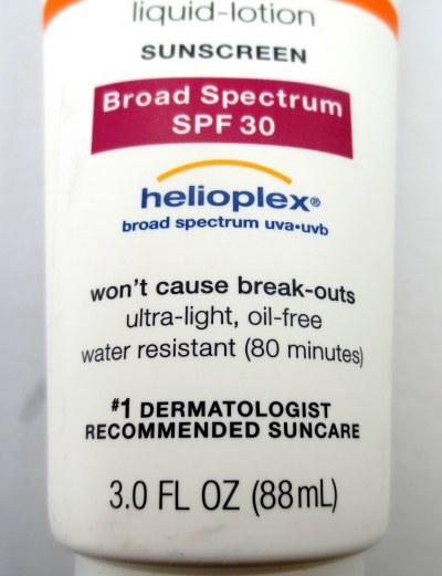 bottom half sunscreen
