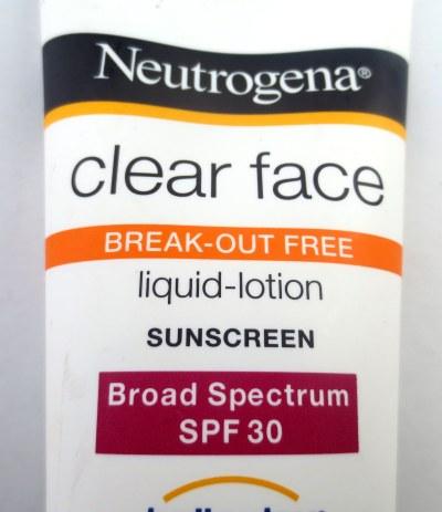 sunscreen first half