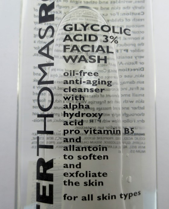 peter thomas roth facial wash gycolic acid