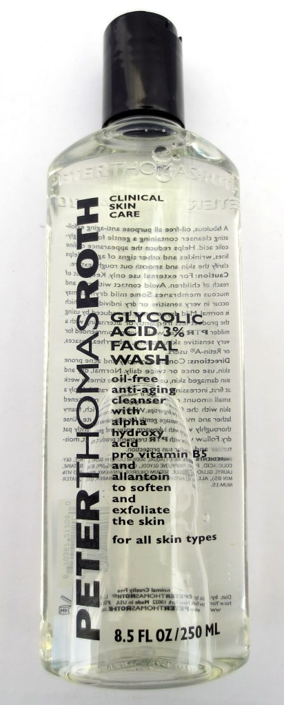 peter thomas roth glycolic acid facial wash