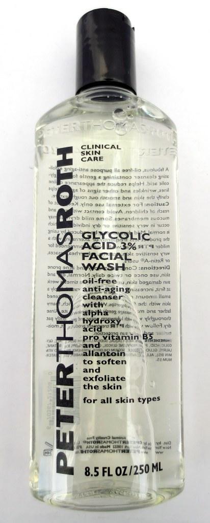 peter thomas roth glycolic acid facial wash